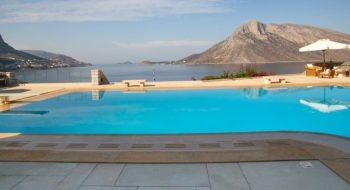 Pool in Greece