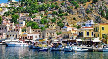 Port in Greece