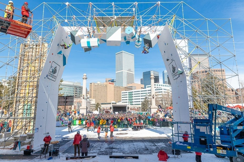 UIAA World Cup Ice Climbing Finals