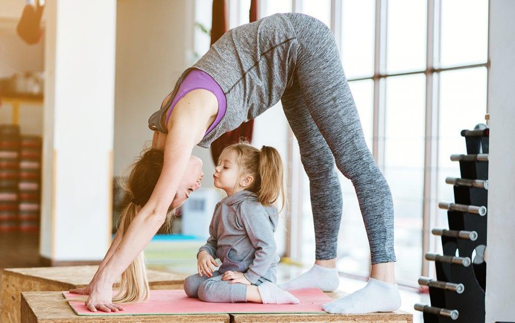 Yoga Mom - Huck Adventures